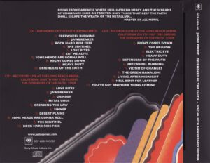 Judas Priest - Defenders Of The Faith (30th Anniversary Edition) - Back