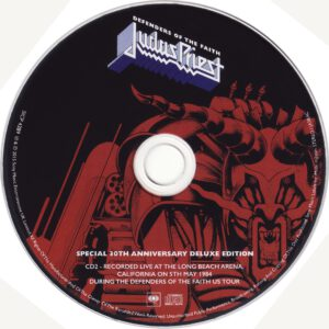Judas Priest - Defenders Of The Faith (30th Anniversary Edition) - CD (2-3)