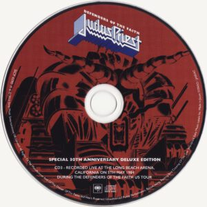 Judas Priest - Defenders Of The Faith (30th Anniversary Edition) - CD (3-3)