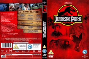Jurassic Park (1993) R2 Cover