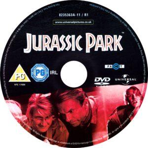Jurassic Park (1993) R2 Label