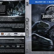 Jurassic World (2015) German Blu-Ray DVD Cover