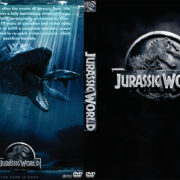 Jurassic World (2015) Custom DVD Cover