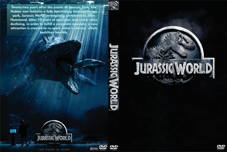 Jurassic World dvd cover