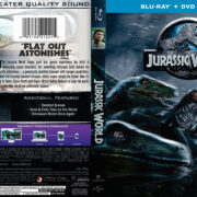 Jurassic World (2015) R1 Blu-Ray DVD Cover