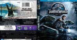 jurassic world blu-ray dvd cover