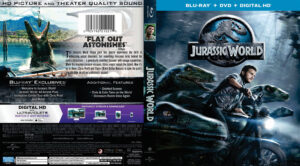 jurassic world blu-ray dvd cover