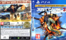 Just Cause 3 (2015) Pal PS4 DVD Cover