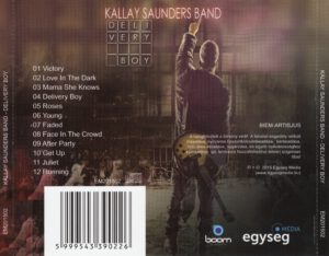 Kallay Saunders Band - Delivery Boy - Back