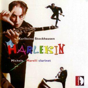 Karlheinz Stockhausen - Harlekin für Klarinette - 1Front