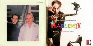 Karlheinz Stockhausen - Harlekin für Klarinette - Booklet (1-12)