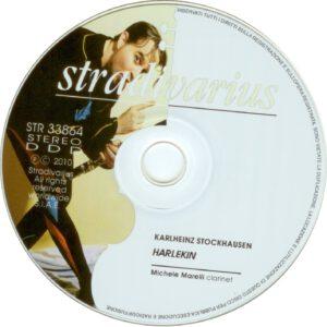 Karlheinz Stockhausen - Harlekin für Klarinette - CD