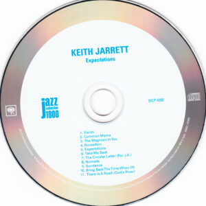 Keith Jarrett - Expectations (Japan) - CD