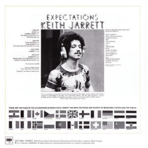 Keith Jarrett - Expectations (Japan) - Inside