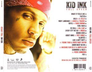 Kid Ink - Full Speed - Back