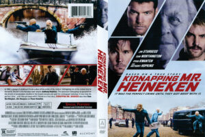 Kidnapping Mr. Heineken dvd cover