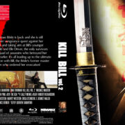 Kill Bill: Volume 2 (2004) Blu-Ray DVD Cover