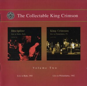 King Crimson - The Collectable King Crimson Volume 2 (Afront)