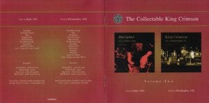 King Crimson - The Collectable King Crimson Volume 2 (Booklet 01)
