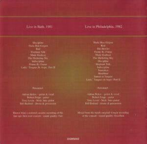 King Crimson - The Collectable King Crimson Volume 2 (Inside)
