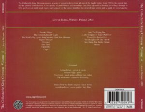 King Crimson - The Collectable King Crimson Volume 4 (Back)