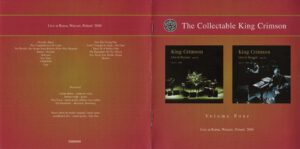King Crimson - The Collectable King Crimson Volume 4 (Booklet 01)