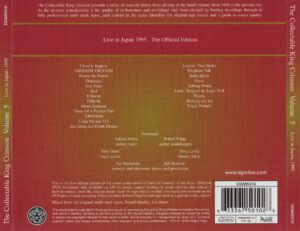 King Crimson - The Collectable King Crimson Volume 5 (Back)