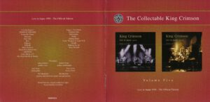 King Crimson - The Collectable King Crimson Volume 5 (Booklet 01)