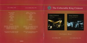 King Crimson Volume 1 (Booklet 01)