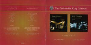 King Crimson Volume 1 (Booklet 01)