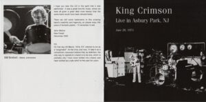 King Crimson Volume 1 (Booklet 04)