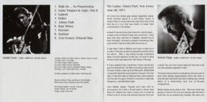 King Crimson Volume 1 (Booklet 05)
