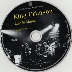 King Crimson Volume 1 (CD1)