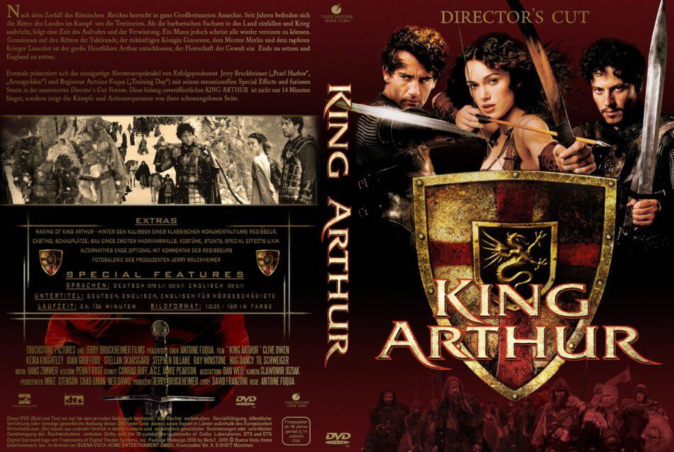 King Arthur Dvd Cover 2004 R2 German