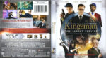 Kingsman: The Secret Service (2015) R1 Blu-Ray DVD Cover & Label