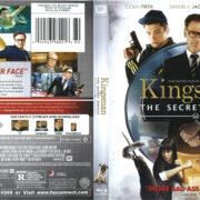 Kingsman: The Secret Service (2015) R1 Blu-Ray DVD Cover & Label