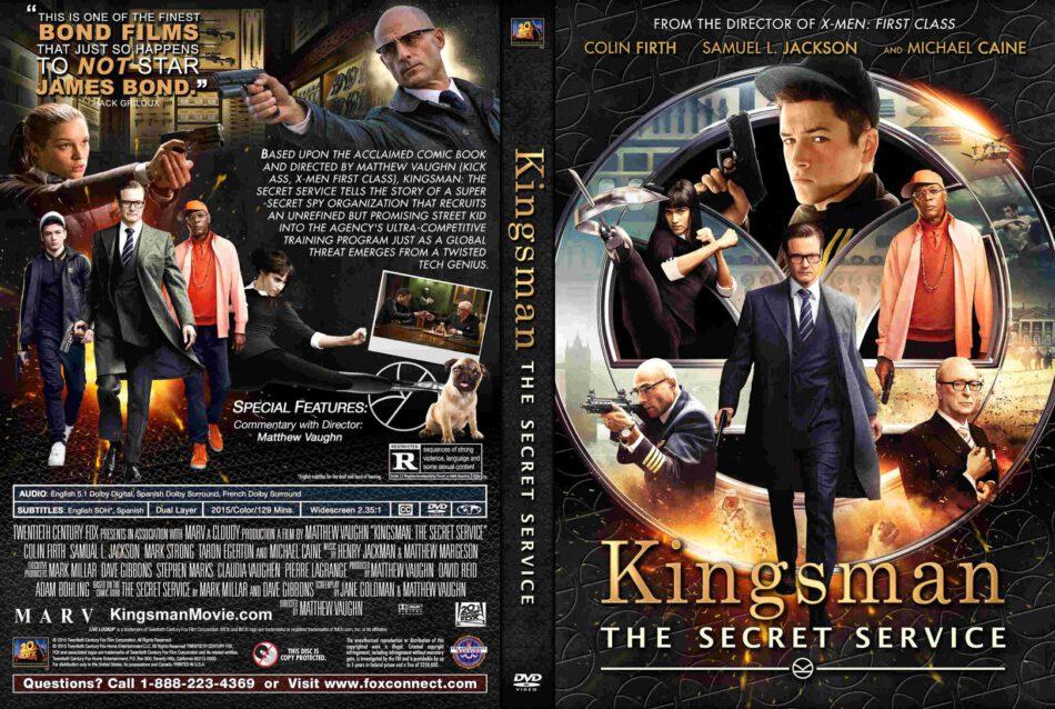 Kingsman The Secret Service Dvd Cover 2015 R1