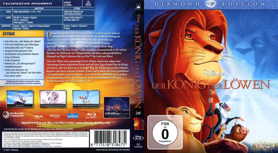 König Der Löwen Blu Ray