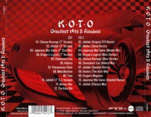 Koto - Greatest Hits & Remixes - Back