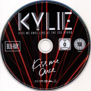 Kylie Minogue - Kiss Me Once Live At The SSE Hydro - DVD (1-3)