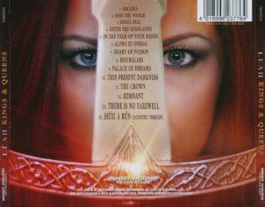 Leah - Kings & Queens - Back
