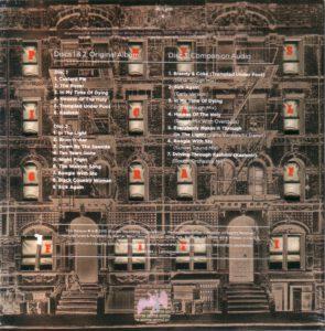 Led Zeppelin - Physical Graffiti - Back