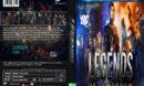 Legends Of Tomorrow: Season 1 (2016) R1 Custom DVD Cover