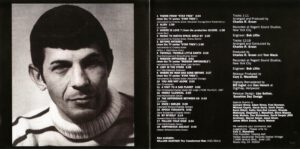 Leonard Nimoy - Mr. Spock´s Music From Outer Space - Booklet (2-2)