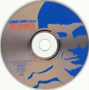 Leonard Nimoy - Mr. Spock´s Music From Outer Space - CD