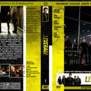 Leverage – Staffel 1 (2008) R2 german custom