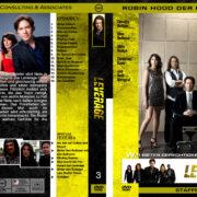 Leverage – Staffel 3 (2010) R2 german custom