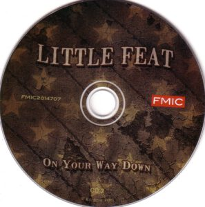 Little Feat - On Your Way Down - CD (2-2)