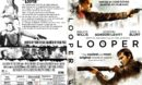 Looper (2012) R1 CUSTOM DVD Cover