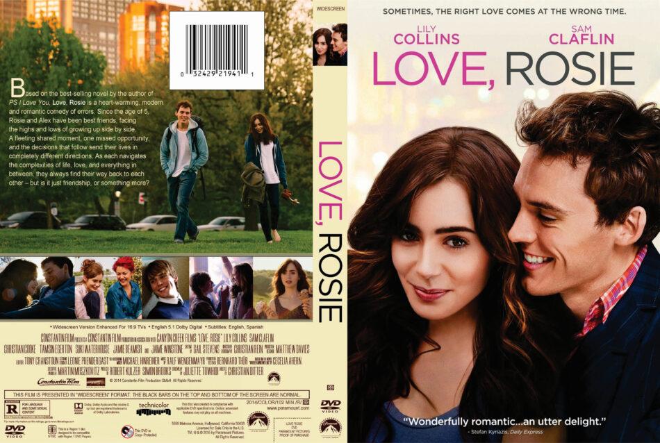 Love, Rosie dvd cover